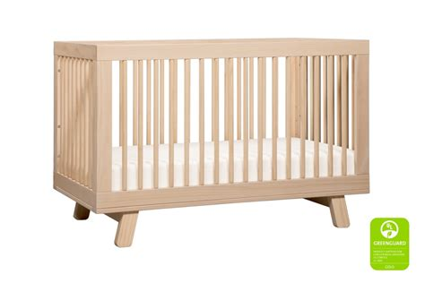 N Cribs by Babyletto Hudson 3 In 1 Convertible Crib Washed