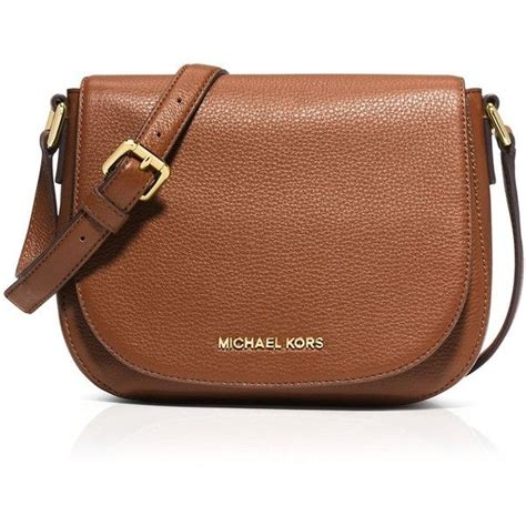 Michael Kors Messenger Crossbody Sign Brown michael kors medium crossbody purse michael kors