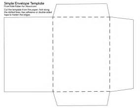 printable envelope template free printable here s a simple envelope template to