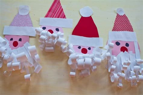 christmas crafts kindergarten craft get ideas
