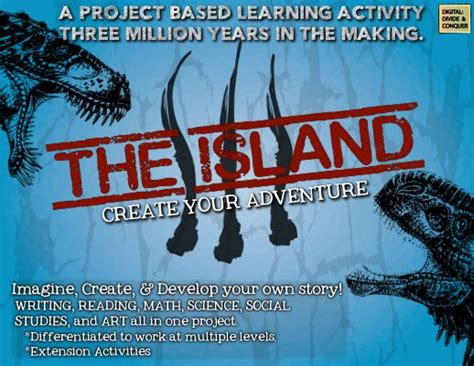 spark create imagine learning activity the island project based learning for ela math science