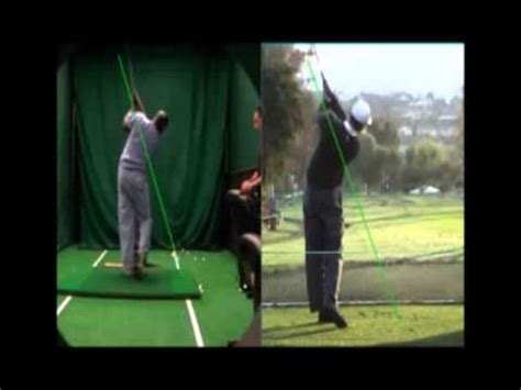 aj golf swing aj s golf swing video analysis breakdown youtube