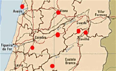 portugal pousadas map center portugal pousadas