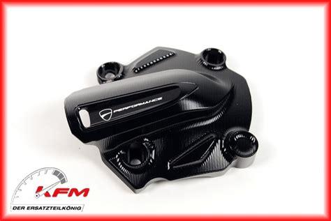 Motorrad Cover Ducati by 97380412a Ducati Wasserpumpen Cover Cnc Black Original Neu