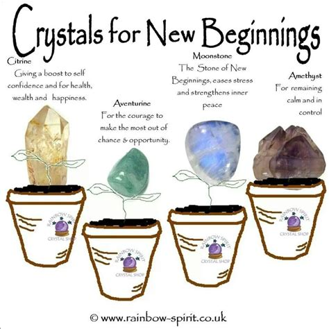 crystal properties new path crystals stones pinterest
