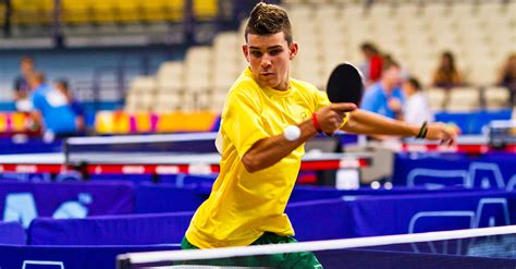 section x sports special olympics table tennis