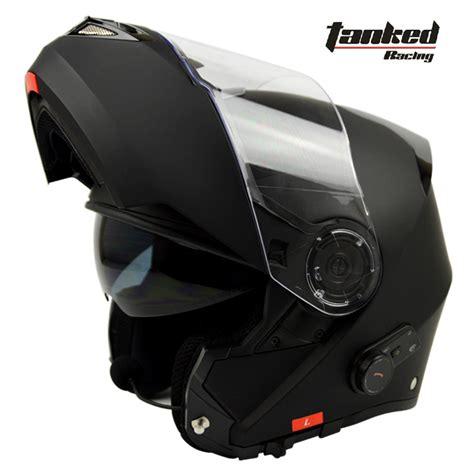 bluetooth motocross helmet tanked racing t270 flip up motorcycle helmet built in