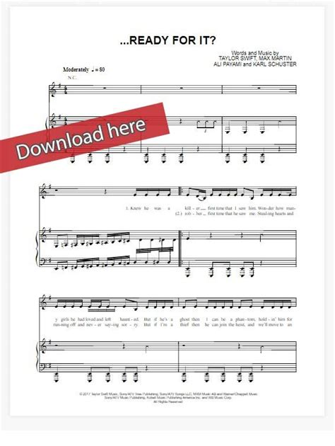 taylor swift chord piano taylor swift ready for it sheet music piano notes chords