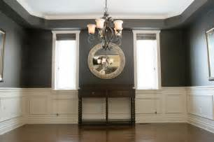 Chair Rail In Dining Room Chair Rail Applique Columns Traditional Dining Room Ottawa By House Of Carpentry