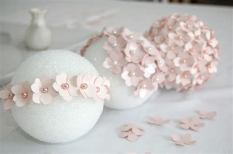 How To Make Paper Flower Balls For Wedding - diy pomander paper hydrangea