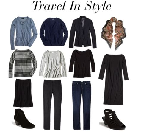 Stylish Travel Wardrobe by Tips For Building A Travel Wardrobe