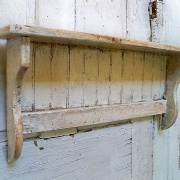 breathtaking distressed white wood shelf decorating ideas handmade white distressed recycled wood from