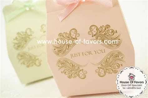 kotak cenderahati perkahwinan murah quot just for you quot pastel color favor box as low as rm0 45