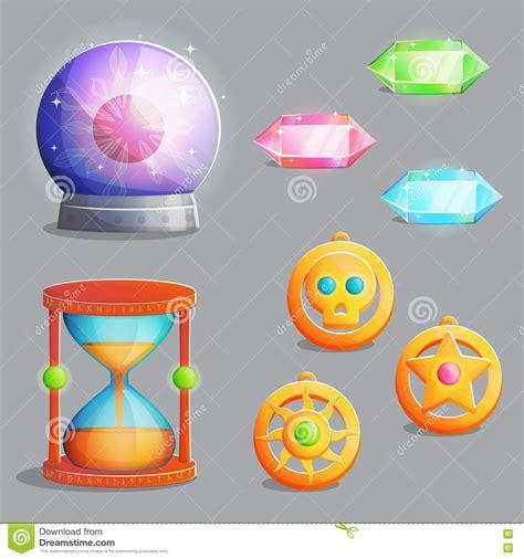 game design equipment magic cartoons illustrations vector stock images