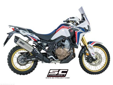 Honda Schwingenaufkleber by Quot Adventure Quot Exhaust By Sc Project Honda Crf1000l Africa