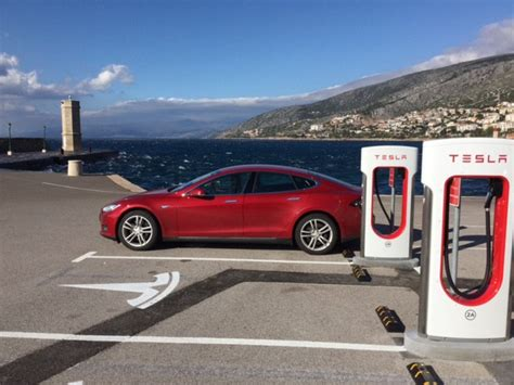 Tesla Supercharger Speed How To Travel Through Croatia On Batteries