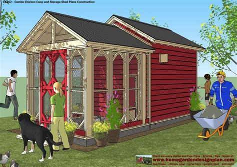 Backyard Chicken Coops Backyard Shed Designs Plans Construction Garden