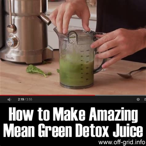 How Do O Make Detox Island Green by How To Make Amazing Green Detox Juice Grid