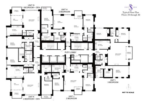 high rise apartment building floor plans chicago condominium review 55 east erie 55 e erie st