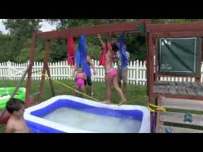 Backyard For 7 Year Olds Elianas 6th Bday Wipeout