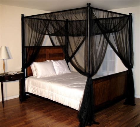 Black Canopy Bed Curtains Bed Canopy Ideas Collection On Ebay
