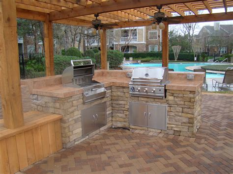 backyard kitchens perfect design patios outdoor kitchens