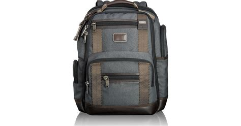 Tumi Kingsville Deluxe Brief Pack 222382nvy2 tumi alpha bravo anthracite kingsville deluxe brief pack