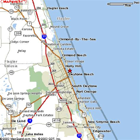 map daytona florida map for daytona regional bridge tournament