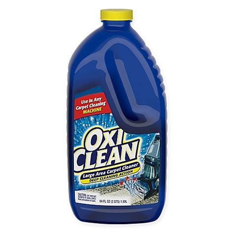 carpet cleaner bed bath and beyond oxiclean 64 oz carpet cleaning solution bed bath beyond