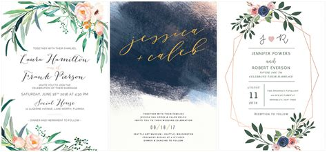 Wedding Invitation Styles by The Coolest Watercolor Wedding Invitations Of Different