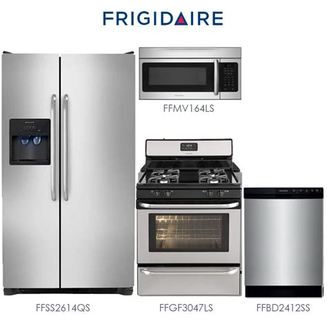 discount kitchen appliance packages discount package frigidaire 4 piece stainless steel