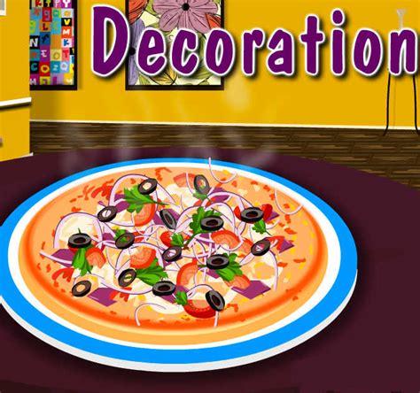 juegos de cocinar pizzas juego de cocinar y decoraci 243 n de pizzas juegos