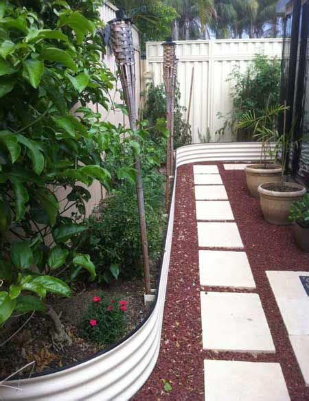 curved garden bed as raised garden bed border action sheetmetal roofing raised garden beds