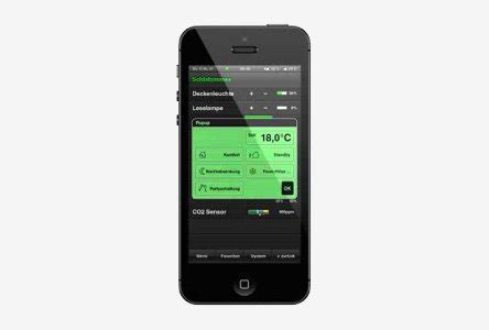 room temperature iphone app gira homeserver facilityserver app building with the iphone and android