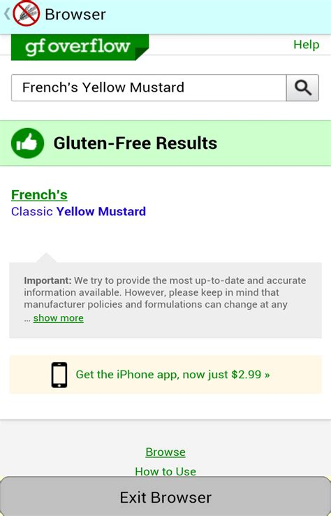 Free Search Results Clearing Up Any Confusion About Our Is This Gluten Free App 171 Subarctic Systems