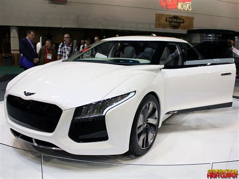 hyundai supercar concept cars of ces 2013 photo gallery generation high output