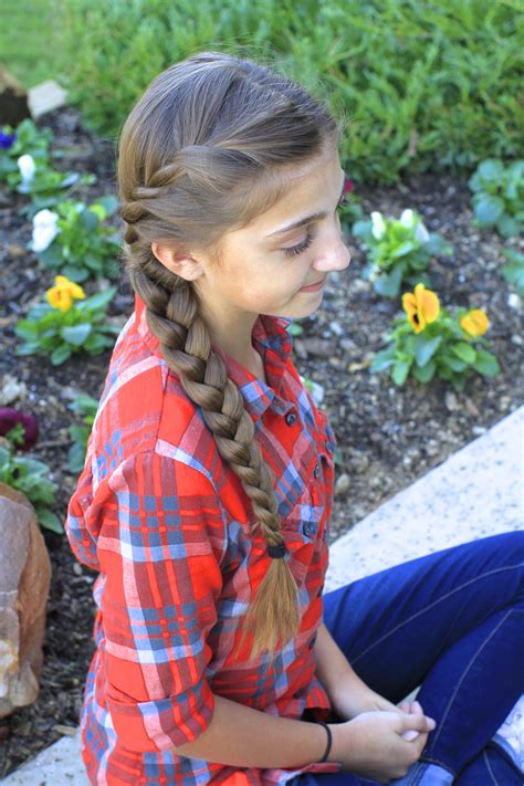 cute girl hairstyles how to french braid french twist into side braid cute girls hairstyles