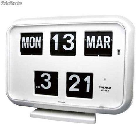 Calendario Retro Reloj Calendario Pared Retro Flip 70 S Quartz Con