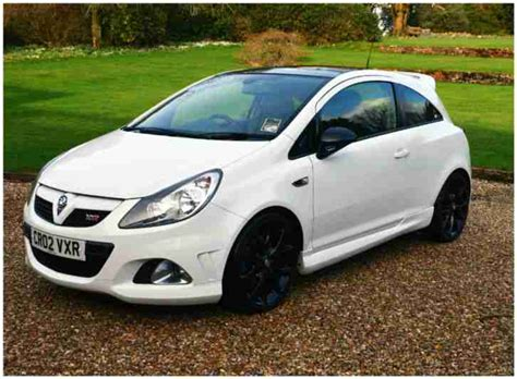 opel corsa opc white 2009 vauxhall corsa vxr arctic edition white car for sale