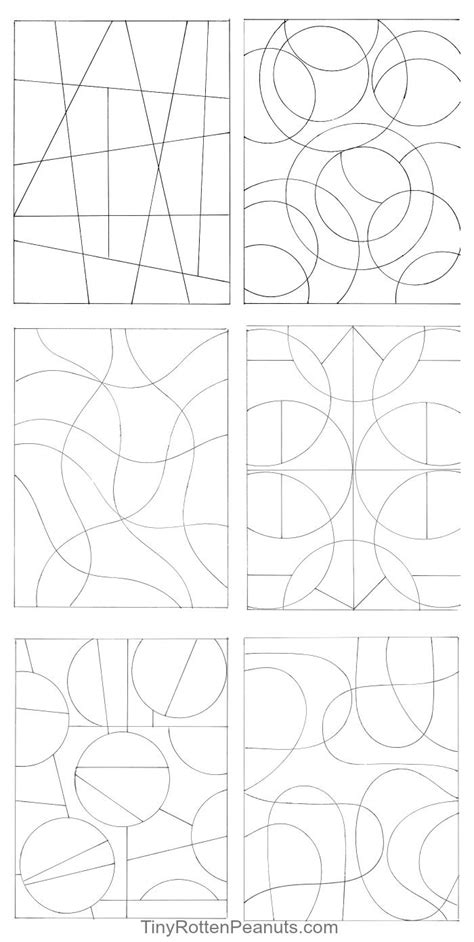 free printable zentangle starters inspired by zentangle patterns and starter pages