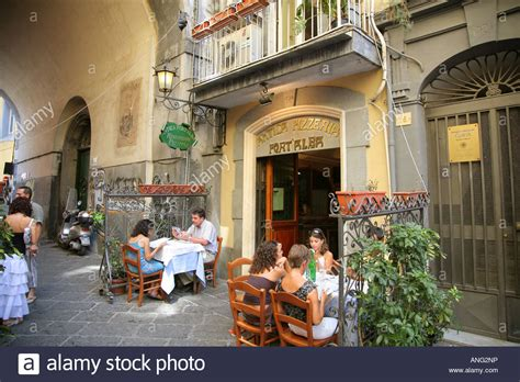 pizzeria alba napoli antica pizzeria alba naples italy stock photo