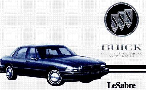 free car manuals to download 1986 buick lesabre interior lighting download free ebook owners manual buick lesabre 1994 free owner manual