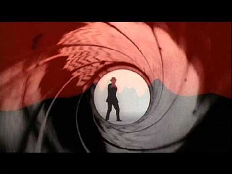 james bond themes by original artists james bond official theme song youtube