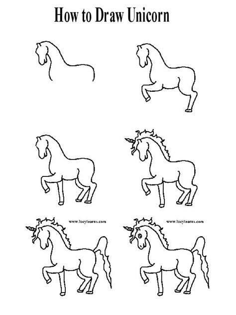 how to draw a doodle unicorn how to draw a unicorn search how to draw things