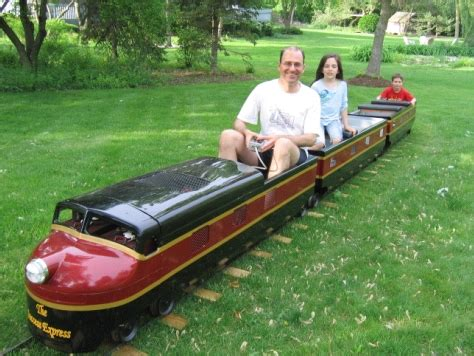 backyard train for sale backyard track system