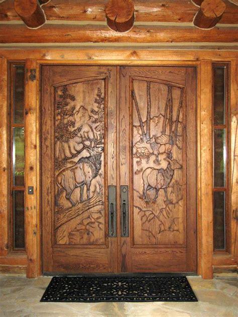 Front Wooden Double Door Designs Pictures