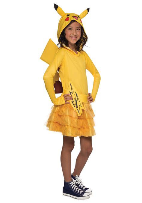 Hoodie Pika Pikachu 1 pikachu hoodie dress