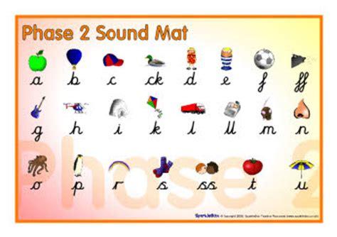 phase 2 sound mat cursive sb2398 sparklebox
