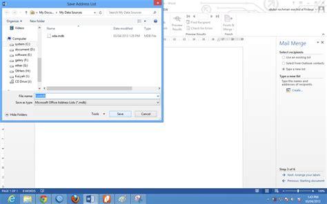 cara membuat mail merge label undangan membuat label undangan dengan menggunakan microsoft word