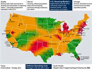 economic map of united states us regional economic map nov 2013 business insider